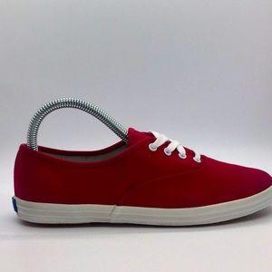 Women's Keds canvas boat shoes